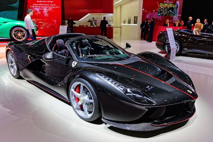 LaFerrari Aperta Up For Sale With A $8.5 Million Price Tag