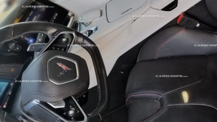 First Look The Interior Of The 2020 Chevrolet Corvette