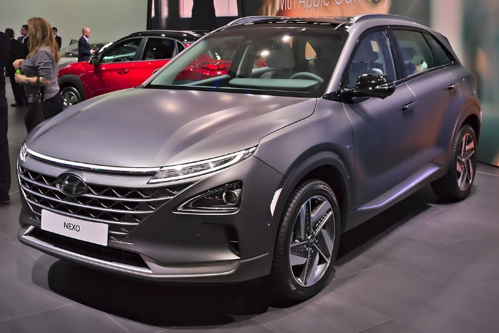 The First Hyundai NEXO Hydrogen Fuel Cell Electric Vehicle