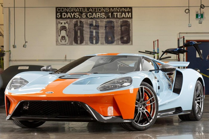 Ford Gt Heritage Edition Front Side View