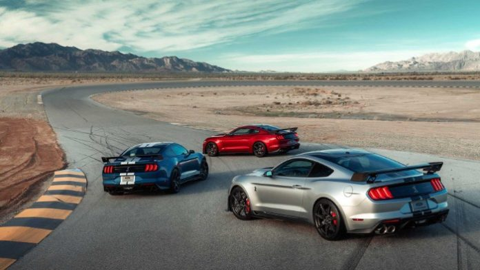 2020 Ford Shelby GT500 - Rear view