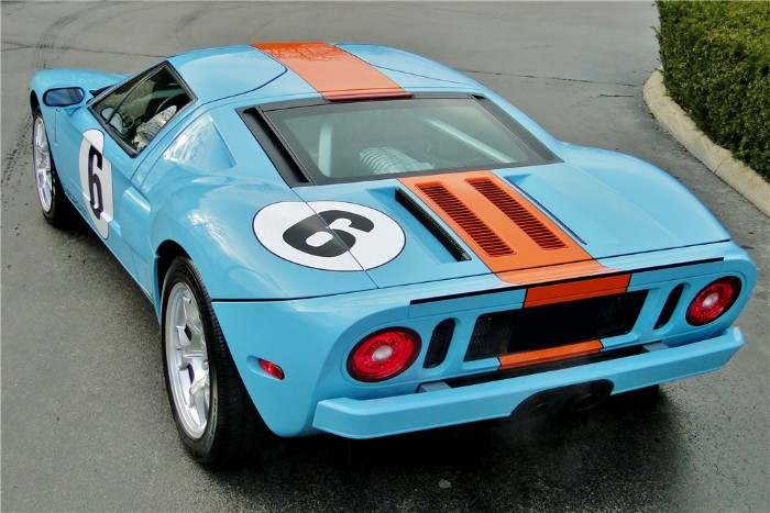 Ford Gt Heritage Rear View