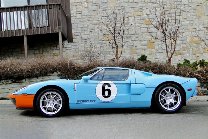 Ford Gt Heritage Side View