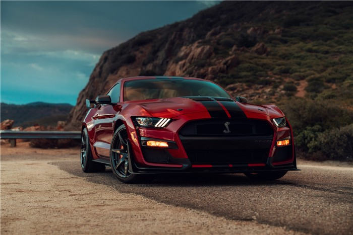 9dcacaa4aa First 2020 Shelby GT500 Sells for  1.1 Million for Charity