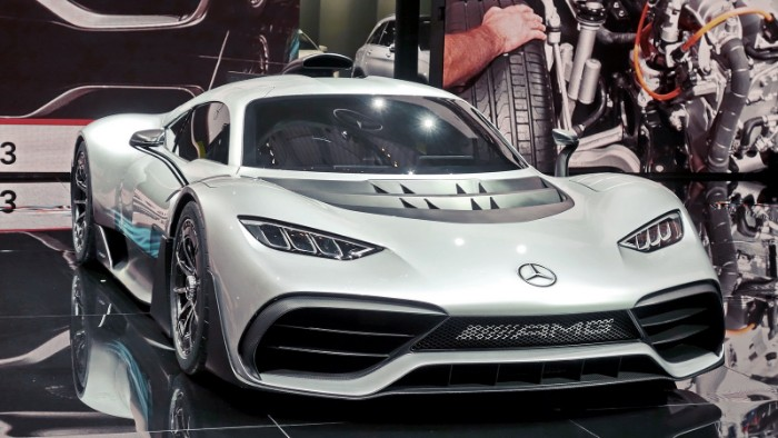 Mercedes-AMG One - front side view