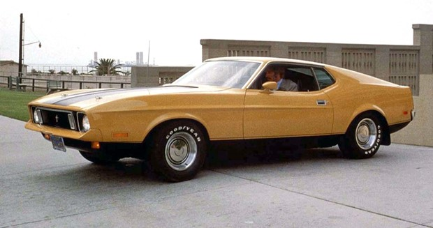 1971 Ford Mustang Sportsroof as seen in the original 1974 Gone in 60 Seconds