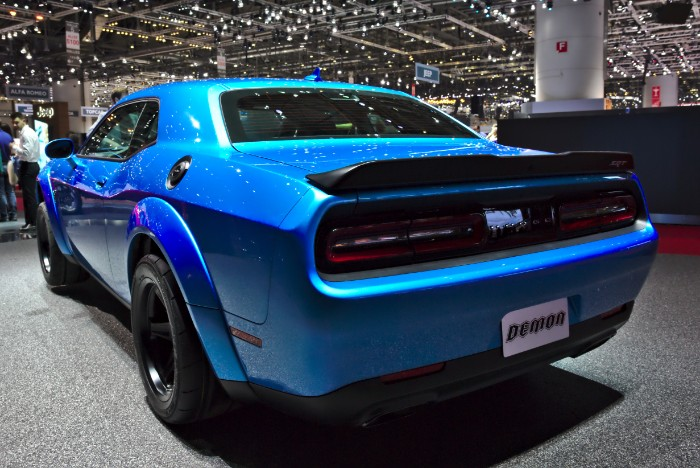 2018 Dodge Challenger SRT Demon - rear side view