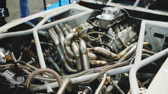 Riley Stair's Custom 1970 Pontiac Firebird Trans-Am - Engine bay