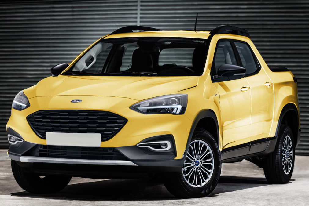 new ford small pickup truck
