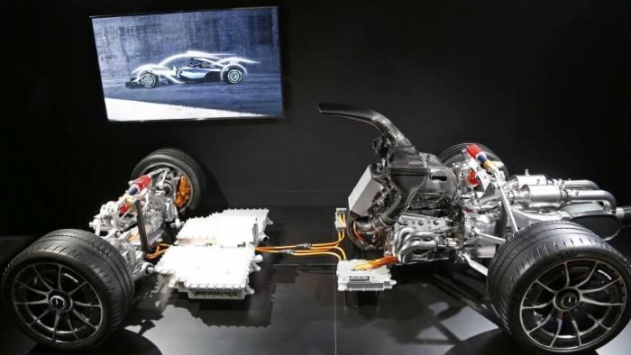 Mercedes-AMG One - drive train