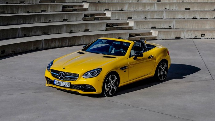 2019 Mercedes-Benz SLC Final Edition - front side view