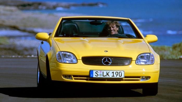 Original 1996 Mercedes-Benz SLK Yellowstone