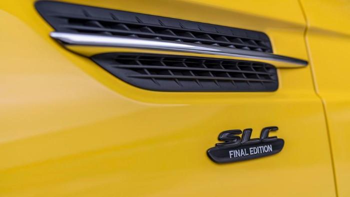 2019 Mercedes-Benz SLC Final Edition - air intake