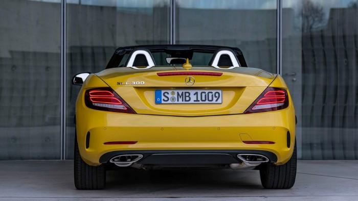 2019 Mercedes-Benz SLC Final Edition - rear view