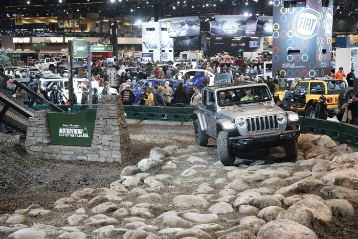 Image result for 2019 Chicago auto show camp jeep