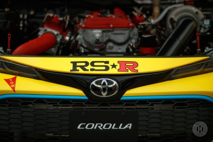 2019 Toyota Corolla Formula Drift - engine