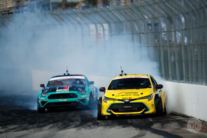 2019 Toyota Corolla Formula Drift - drifting in tandem
