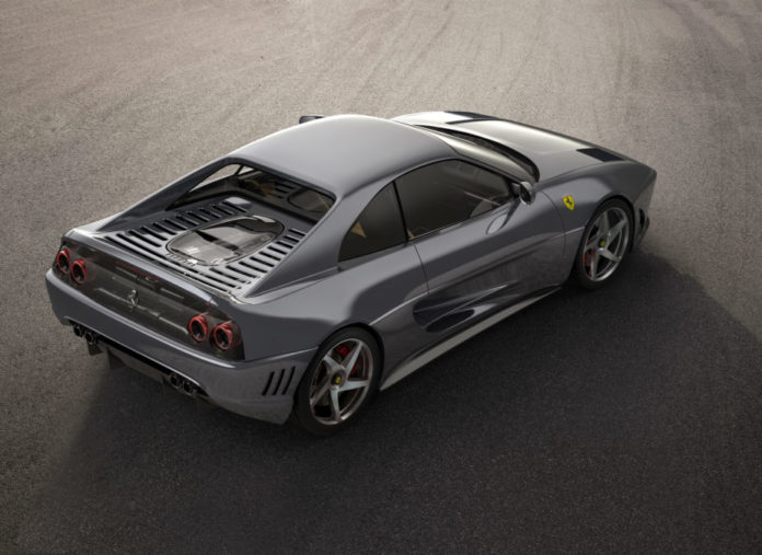 Custom Ferrari 348 - top side view