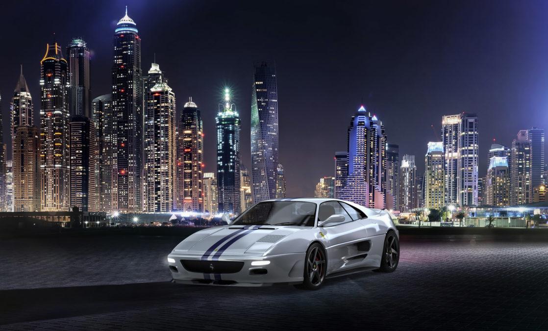 Custom Ferrari 348 - front side view