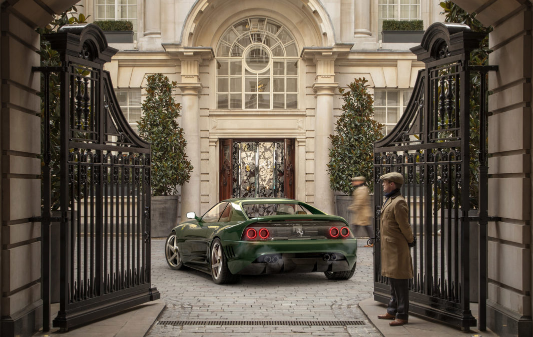 Custom Ferrari 348 - rear view hotel