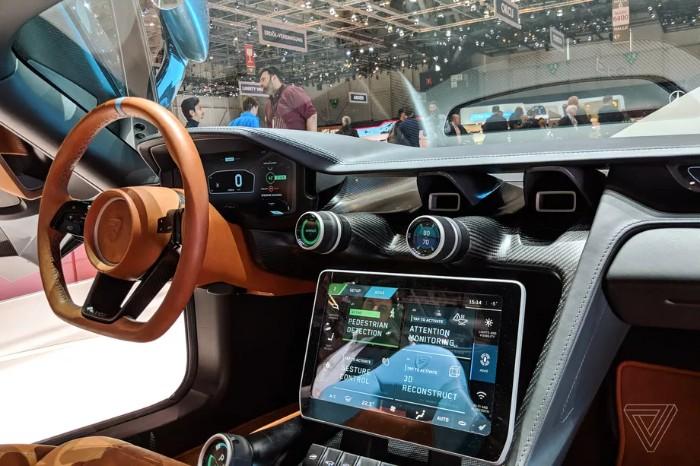 Rimac Concept Two EV Hypercar - interior