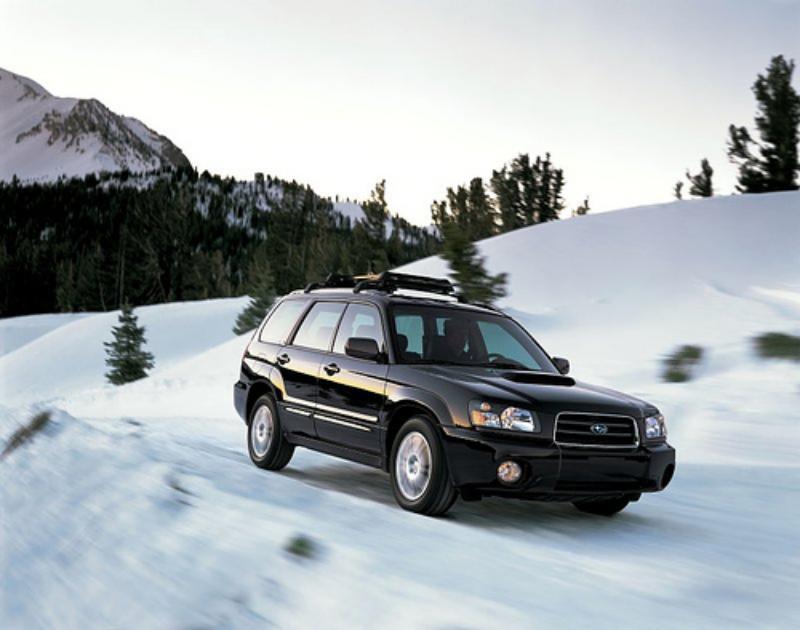 2004-2005 Subaru Forester 2.5 XT