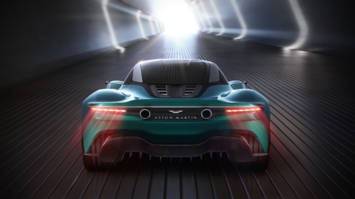 Aston Martin - Vanquish Vision Concept - rear view render