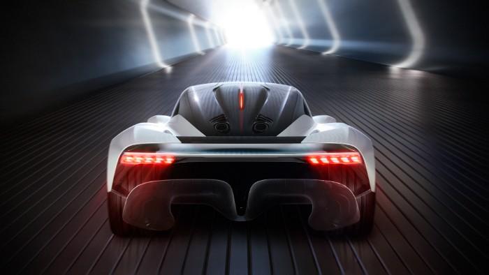 Aston Martin AM-RB 003 Hypercar - rear view render