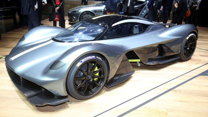 Aston Martin Valkyrie - Verification Prototype 1 - front side view