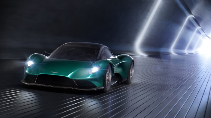 Aston Martin - Vanquish Vision Concept - front view render