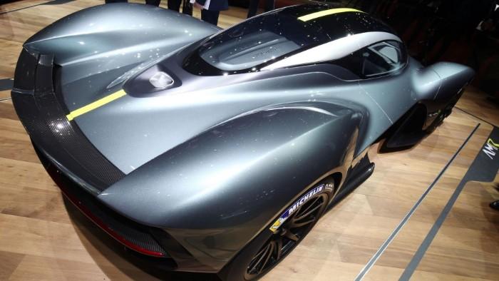 Aston Martin Valkyrie - Verification Prototype 1 - rear side view