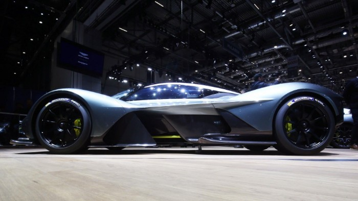 Aston Martin Valkyrie - Verification Prototype 1 - side view