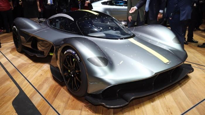 Aston Martin Valkyrie - Verification Prototype 1 - front view