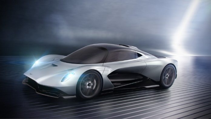 Aston Martin AM-RB 003 Hypercar - front side view render