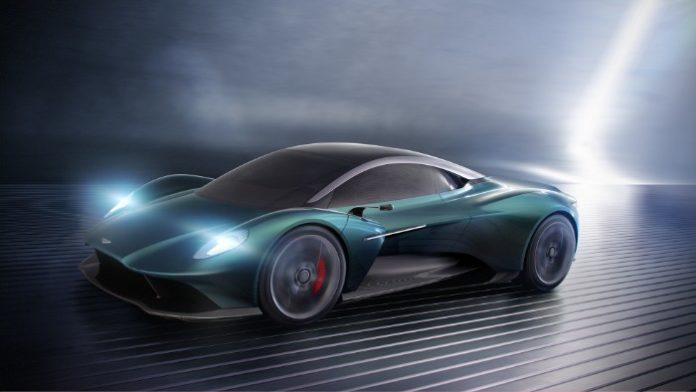 Aston Martin - Vanquish Vision Concept - front side view render