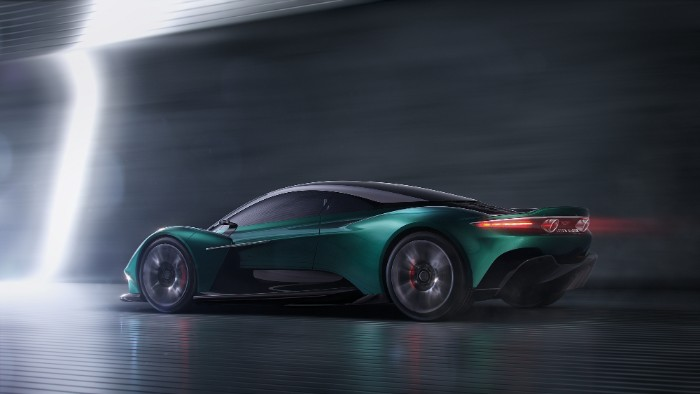 Aston Martin - Vanquish Vision Concept - side view render