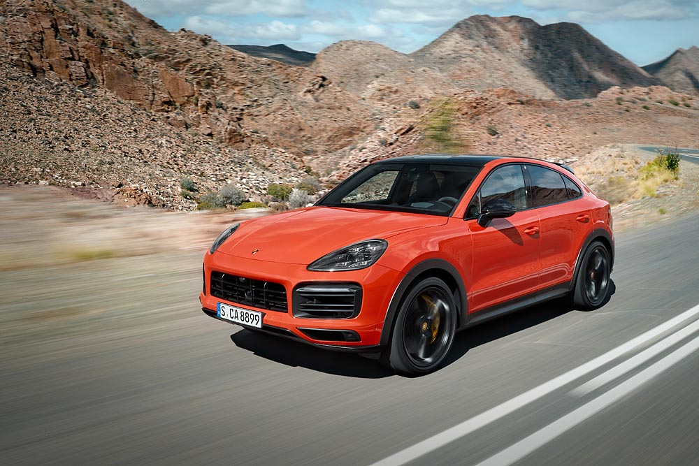 First Look At The 2020 Porsche Cayenne Coupe