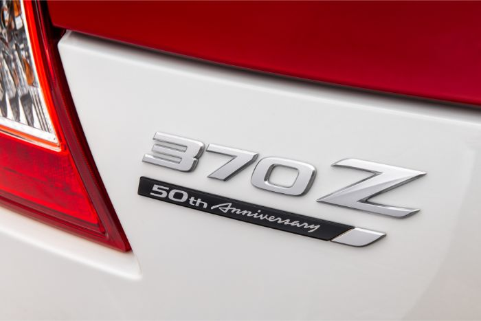 Nissan 370Z 50th Anniversary Special Edition - rear details