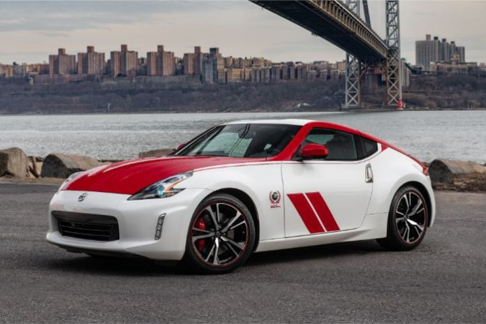 Nissan 370Z 50th Anniversary Special Edition - front side view