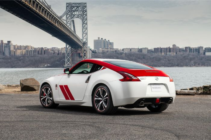Nissan 370Z 50th Anniversary Special Edition - rear side view