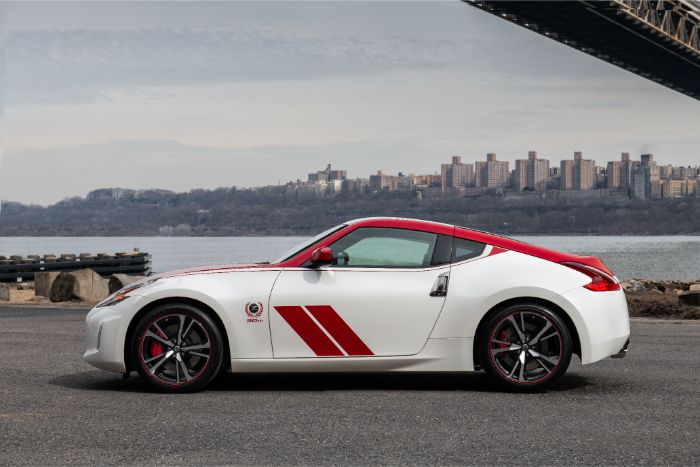 Nissan 370Z 50th Anniversary Special Edition - side view