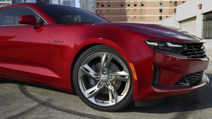 Chevy Camaro Gets a Makeover for 2020