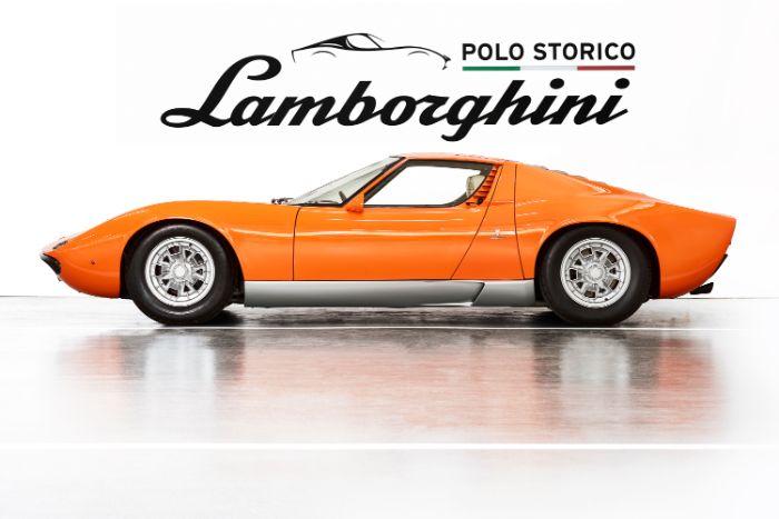 Lamborghini Finds And Restores Lost Miura P400 From The Original