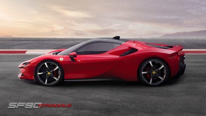 Ferrari SF 90 Stradale - sideview