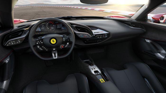 Ferrari SF 90 Stradale - interior view
