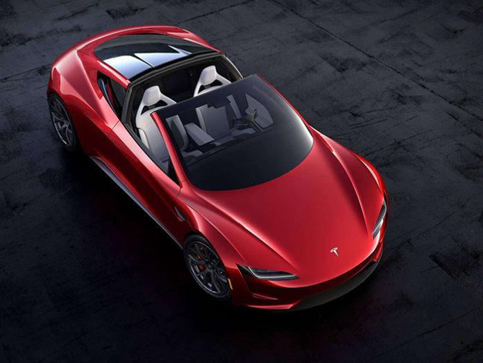 New Sneak Peek of the 2020 Tesla Roadster