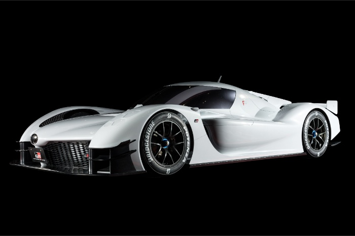 Toyota GR Super Sport - front quarter view