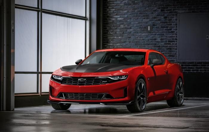 2019 Chevrolet Camaro Turbo 1LE - front view