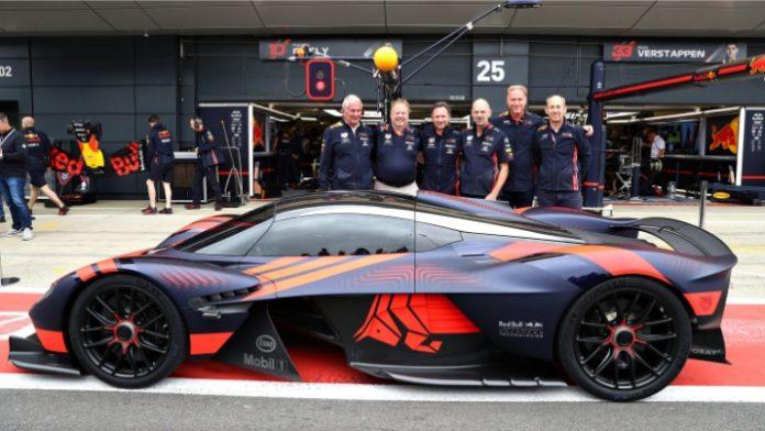 Aston Martin Valkyrie at Silverstone 2019