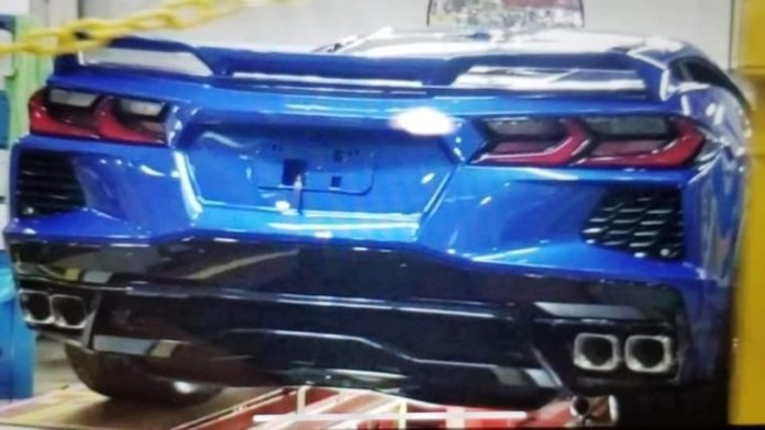 Has the Rear End of Corvette's C8 Been Leaked?